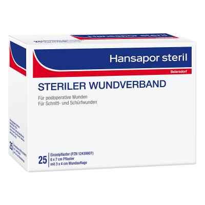 Hansapor steril Wundverband 6x7 cm  bei juvalis.de bestellen