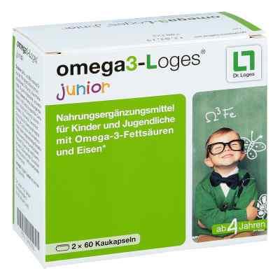 Omega 3-loges junior Kaudragees  bei juvalis.de bestellen