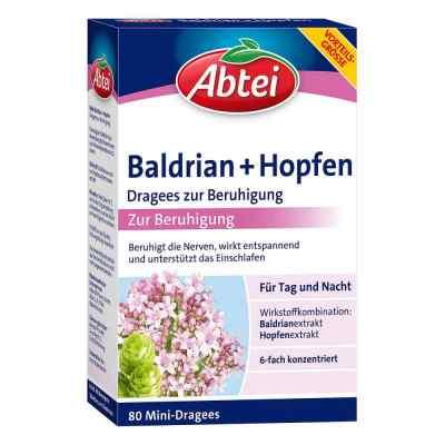 Abtei Baldrian+hopfen Dragees zur Beruhigung  bei juvalis.de bestellen