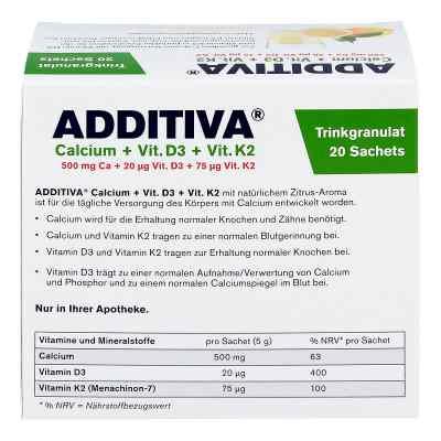 Additiva Calcium+d3+k2 Granulat  bei juvalis.de bestellen