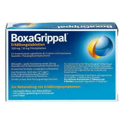 Boxagrippal Erkältungstabletten 200 mg/30 mg Fta  bei juvalis.de bestellen