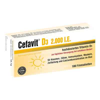 Cefavit D3 2.000 I.e. Filmtabletten  bei juvalis.de bestellen