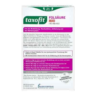 Taxofit Folsäure 800 Depot Tabletten  bei juvalis.de bestellen