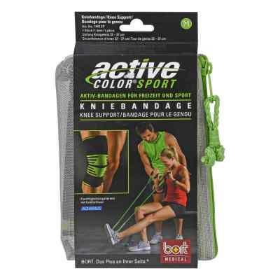 Bort Activecolor Sport Kniebandage M schwarz /grün  bei juvalis.de bestellen