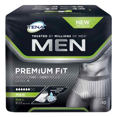 Tena Men Level 4 Premium Fit Prot.underwear Größe l  bei juvalis.de bestellen