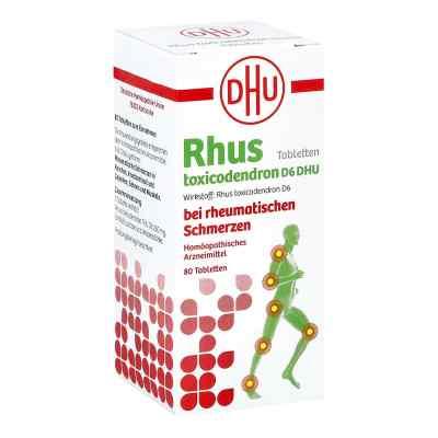 Rhus Tox. D6 Dhu bei rheumatischen Schmerzen Tabletten  bei juvalis.de bestellen