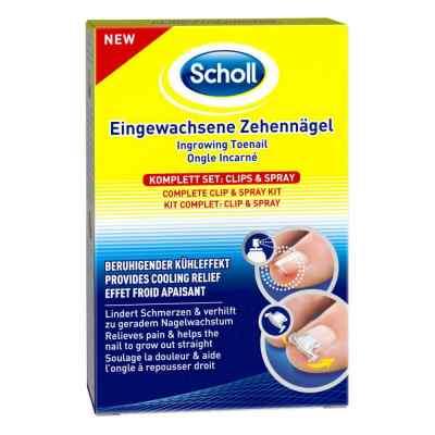 Scholl Eingewachsene Zehennägel Clips & Spray  bei juvalis.de bestellen