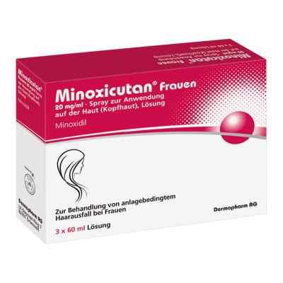Minoxicutan Frauen 20 mg/ml Spray  bei juvalis.de bestellen