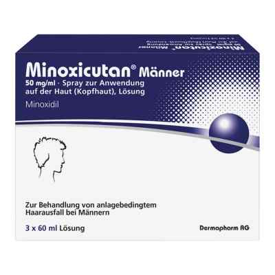 Minoxicutan Männer 50 mg/ml Spray  bei juvalis.de bestellen
