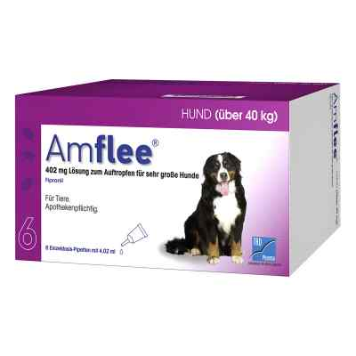 Amflee 402 mg Spot-on Lösung für sehr gr.Hunde 40-60kg  bei juvalis.de bestellen