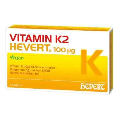Vitamin K2 Hevert 100 [my]g Kapseln  bei juvalis.de bestellen