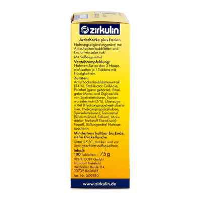 Zirkulin Artischocke plus Enzian Tabletten  bei juvalis.de bestellen