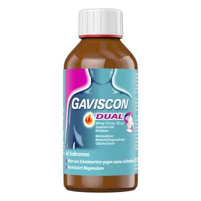 GAVISCON Dual Suspension bei Sodbrennen  bei juvalis.de bestellen