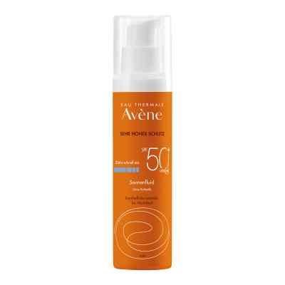 Avene Sunsitive Sonnenfluid Spf 50+ ohne Duftst.  bei juvalis.de bestellen