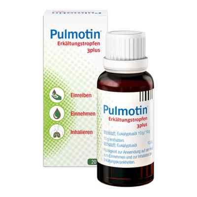 Pulmotin Erkältungstropfen 3plus  bei juvalis.de bestellen