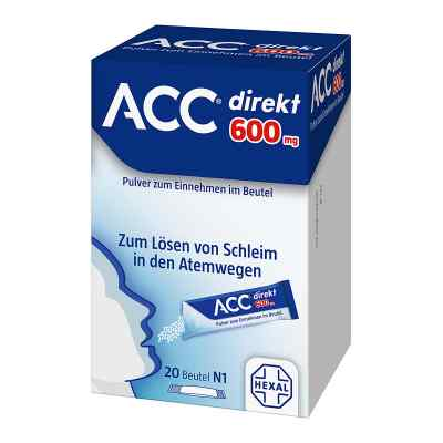 Acc direkt 600 mg Pulver zum Einnehmen im Beutel  bei juvalis.de bestellen