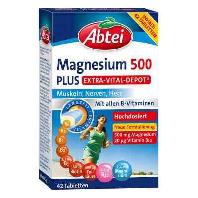Abtei Magnesium 500 Plus Extra-Vital-Depot Tabletten  bei juvalis.de bestellen