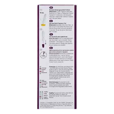 Cyclotest Schwangerschafts-frühtest 10 mlU/ml Urin  bei juvalis.de bestellen