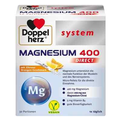 Doppelherz Magnesium 400 Direct system Pellets  bei juvalis.de bestellen