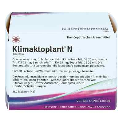 Klimaktoplant N Tabletten  bei juvalis.de bestellen