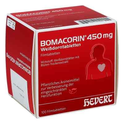 Bomacorin 450 mg Weissdorntabletten  bei juvalis.de bestellen