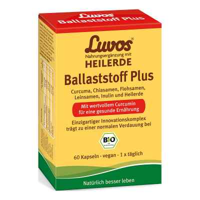 Luvos Heilerde Bio Ballaststoff Plus Kapseln  bei juvalis.de bestellen
