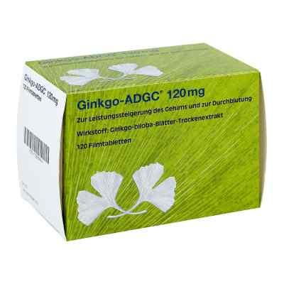 Ginkgo Adgc 120 mg Filmtabletten  bei juvalis.de bestellen