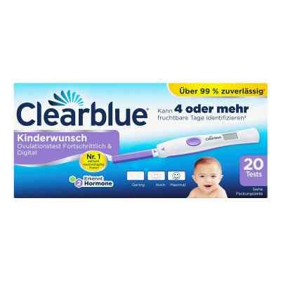 Clearblue Ovulationstest fortschrittlich & digital  bei juvalis.de bestellen