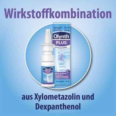 Olynth Plus 0,1%/5% für Erwachsenen nasenspray ohne K.  bei juvalis.de bestellen