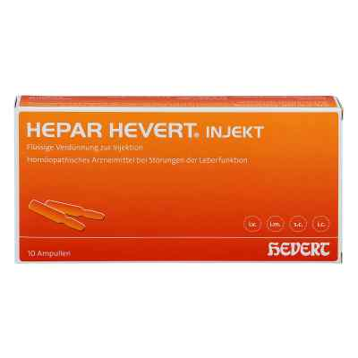 Hepar Hevert injekt Ampullen  bei juvalis.de bestellen