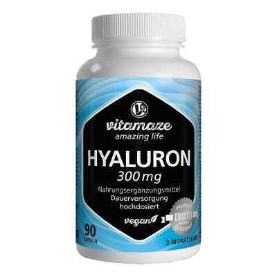 Vitamaze HYALURONSÄURE 300 mg hochdosiert vegan  bei juvalis.de bestellen