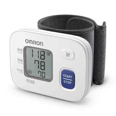 Omron Rs2 Handgelenk Blutdruckmessgerät Hem-6161-d  bei juvalis.de bestellen