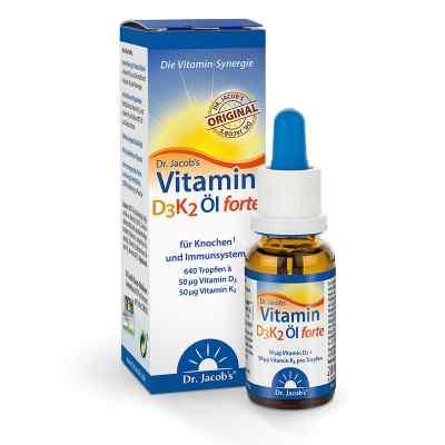 Dr. Jacob's Vitamin D3K2 Öl forte  bei juvalis.de bestellen
