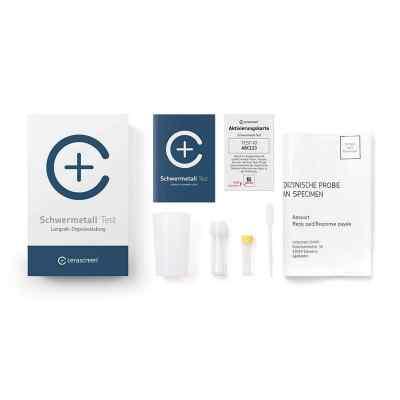 Cerascreen Schwermetall Test  bei juvalis.de bestellen
