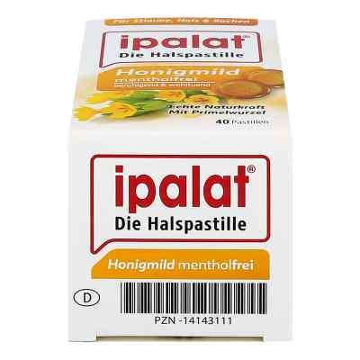 Ipalat Halspastillen honigmild ohne Menthol zuckerfr.  bei juvalis.de bestellen