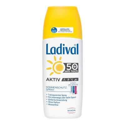 Ladival Aktiv Sonnenschutz Spray Lsf 50+  bei juvalis.de bestellen