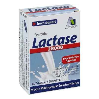 Lactase 28.000 Fcc Tabletten im Spender  bei juvalis.de bestellen
