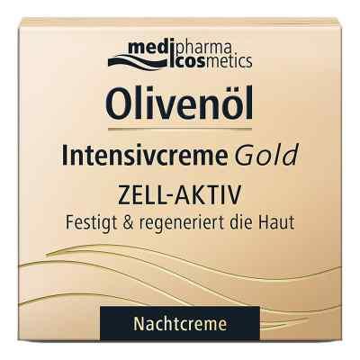 Olivenöl Intensivcreme Gold Zell-aktiv Nachtcreme  bei juvalis.de bestellen