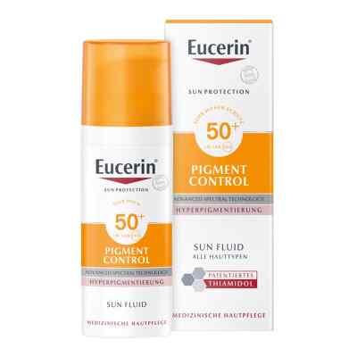 Eucerin Sun Fluid Pigment Control Lsf 50+  bei juvalis.de bestellen
