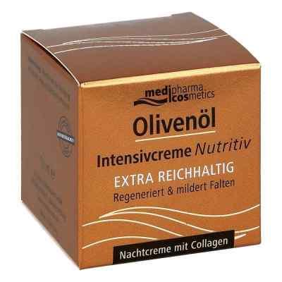 Olivenöl Intensivcreme Nutritiv Nachtcreme  bei juvalis.de bestellen