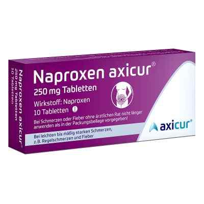 Naproxen axicur 250 mg Tabletten  bei juvalis.de bestellen