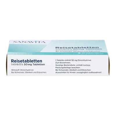 Reisetabletten Sanavita 50 mg Tabletten  bei juvalis.de bestellen
