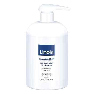 Linola Hautmilch Spender  bei juvalis.de bestellen