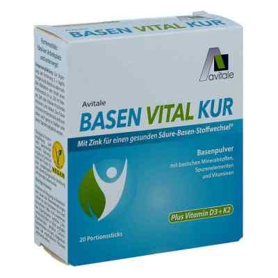 Basen Vital Kur+vitamin D3+k2 Pulver  bei juvalis.de bestellen