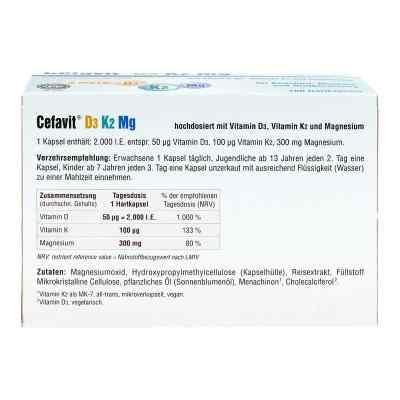 Cefavit D3 K2 Mg Hartkapseln  bei juvalis.de bestellen