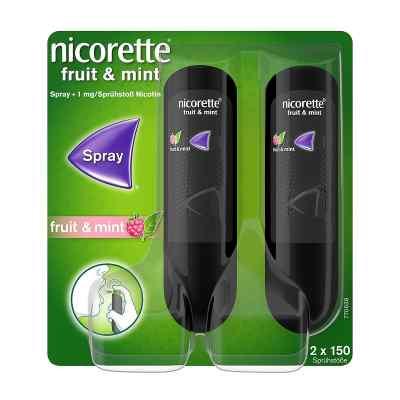 Nicorette Fruit & Mint Spray 1 mg/Sprühstoss  bei juvalis.de bestellen