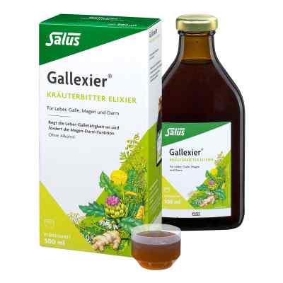 Gallexier Kräuterbitter Elixier Salus Flüss.z.e.  bei juvalis.de bestellen
