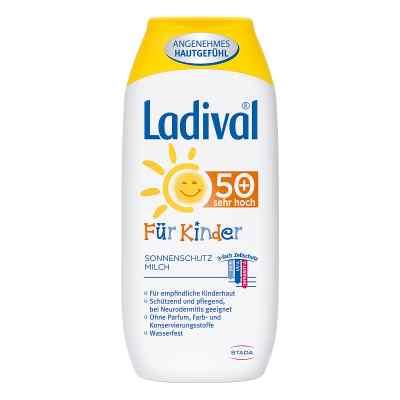 Ladival Kinder Sonnenmilch Lsf 50+  bei juvalis.de bestellen
