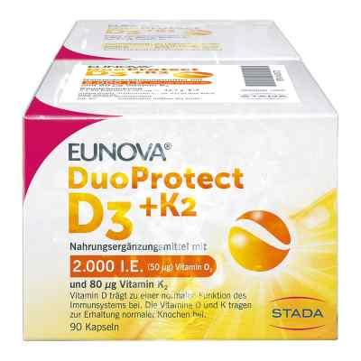 Eunova Duoprotect D3+k2 2.000 I.e./80 [my]g Kapseln ko  bei juvalis.de bestellen