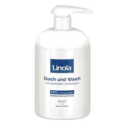 Linola Dusch und Wasch mit Spender  bei juvalis.de bestellen